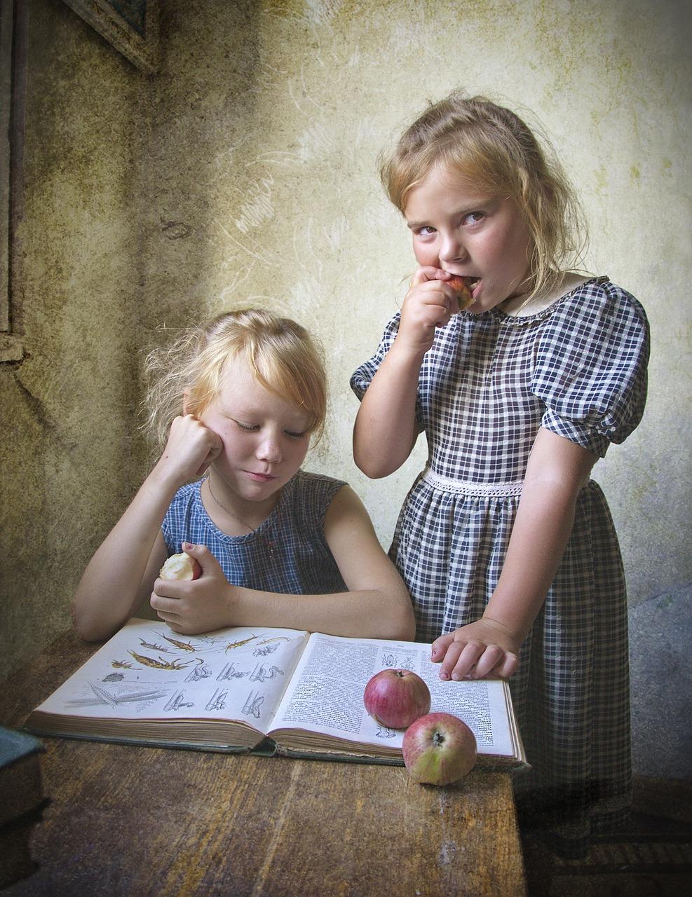 Kinder sollten ebenfalls eine bessere Haltung lernen!