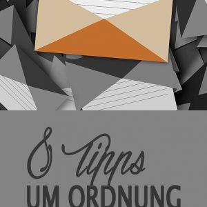 8 Tipps um Ordnung im eMail Postfach zu halten