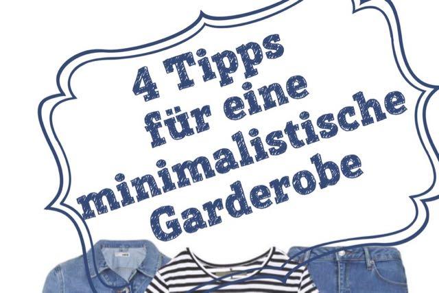 4 tipps um geld zu sparen minimalistische garderobe. Black Bedroom Furniture Sets. Home Design Ideas