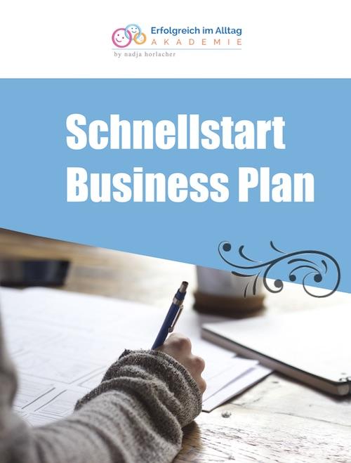 Schnellstart Businessplan