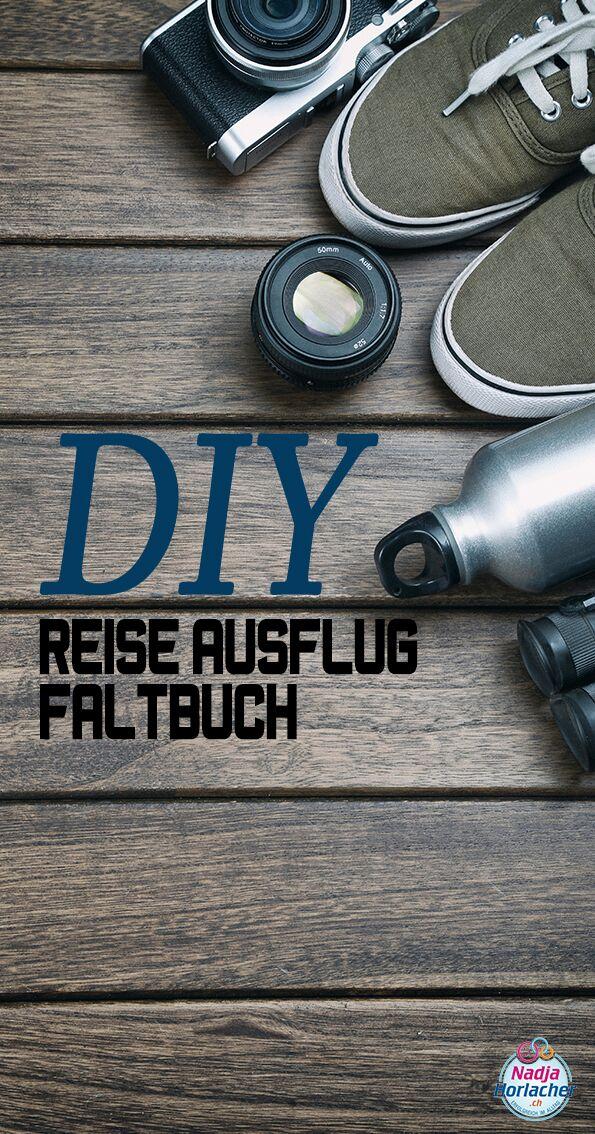 DIY Reise Ausflug Faltbuch