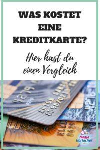 Was kostet eine Kreditkarte? Hier hast du einen Vergleich