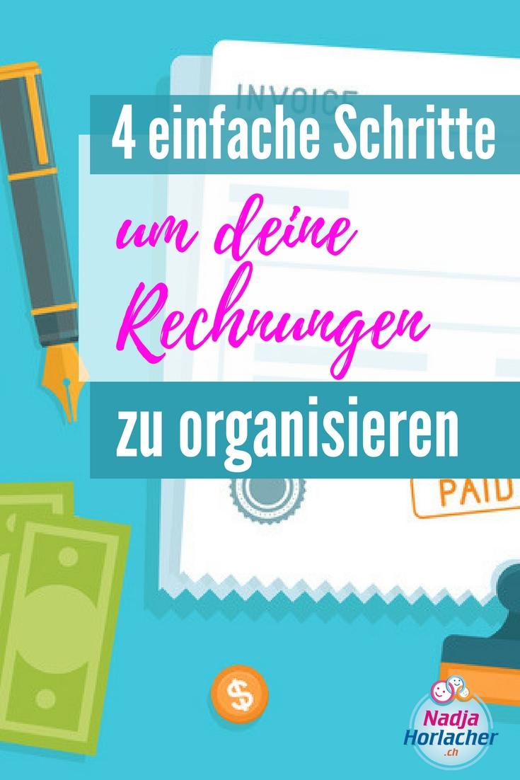 Rechnungen Organisieren