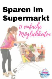 Sparen im Supermarkt