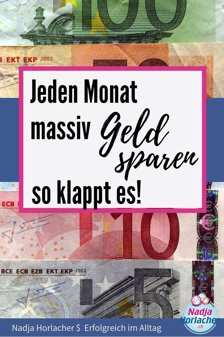 Jeden Monat massiv Geld sparen, so klappt es.  Immer Geld sparen, massiv Geld sparen.......nervt dich das manchmalWenn man Geld sparen muss, und man sich dies nicht gewohnt ist, dann kann es sehr mühsam  https://nadjahorlacher.ch/jeden-monat-massiv-geld-sparen-so-klappt-es/  #geldsparen #geld #sparen #massiv #monatgeldsparen