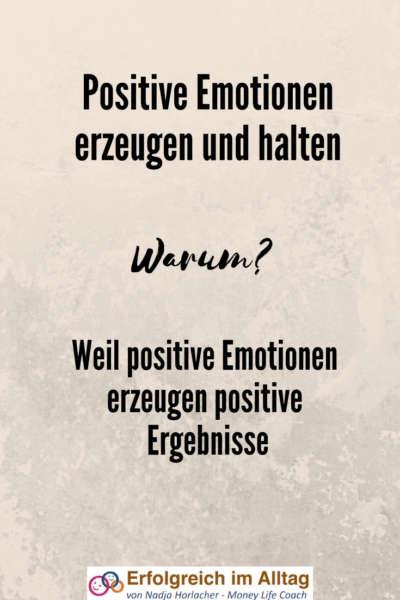 Warum sind positive Emotionen so wichtig?  Setze es in deinem Alltag um, mehr dazu hier.  #emotionen #postiv #freude #erfolg #leben   https://nadjahorlacher.ch/emails-ordnung-%E2%9D%A4-positive-emotionen/